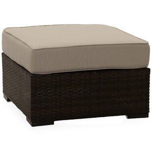 Southport Outdoor Ottoman with Cushion by Shoreline Rattan