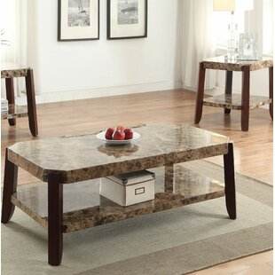 Ludie 2 Piece Coffee Table Set