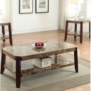 Ludie 2 Piece Coffee Table Set