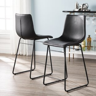 Dareau 38 Bar Stool (Set of 2) Brayden Studio