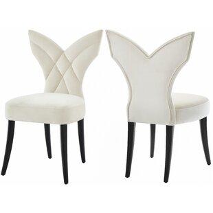 Boylon Upholstered Dining Chair (Set of 2..