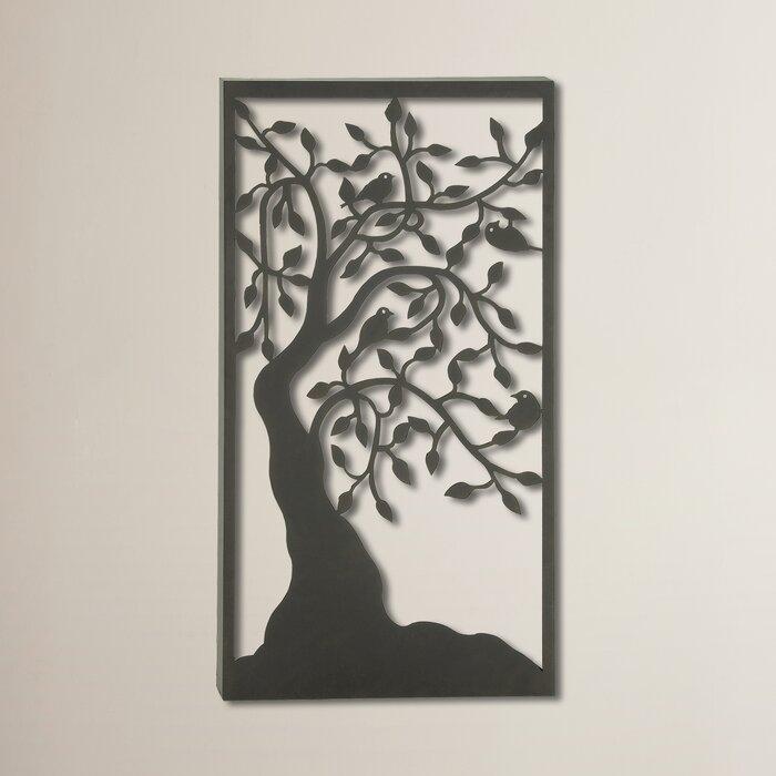 Bungalow Rose Elegant Tree Wall Décor & Reviews   Wayfair.ca