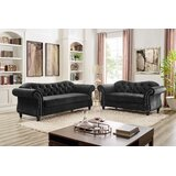 Marzano Chesterfield 2 Piece Living Room Set by Rosdorf Park