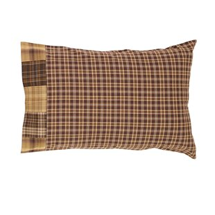 Isabell Block Border Pillow Case (Set of 2)