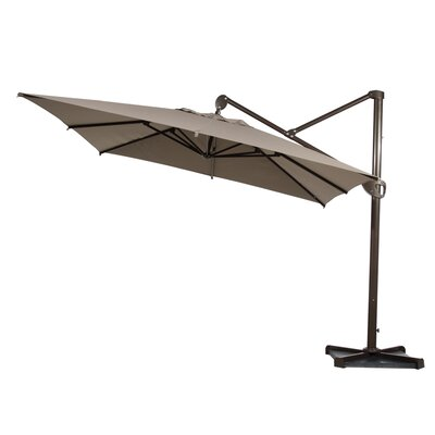 Brunet 10 Square Cantilever Umbrella by Freeport Park Today Sale Only