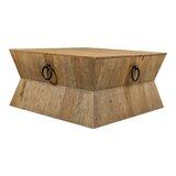 Tribal Solid Wood Solid Coffee Table by Sarreid Ltd