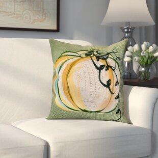 Miller Pumpkin Fest Throw Pillow