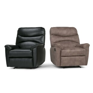 Affordable Wasilewski Leather Manual Recliner by Red Barrel Studio Reviews (2019) & Buyer's Guide