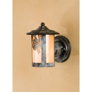 Reviews 1-Light Outdoor Sconce By Meyda Tiffany