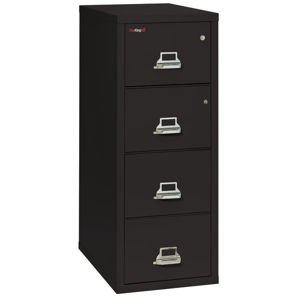 FireKing Legal Safe-In-A-File Fireproof 4-Drawer Vertical File ...