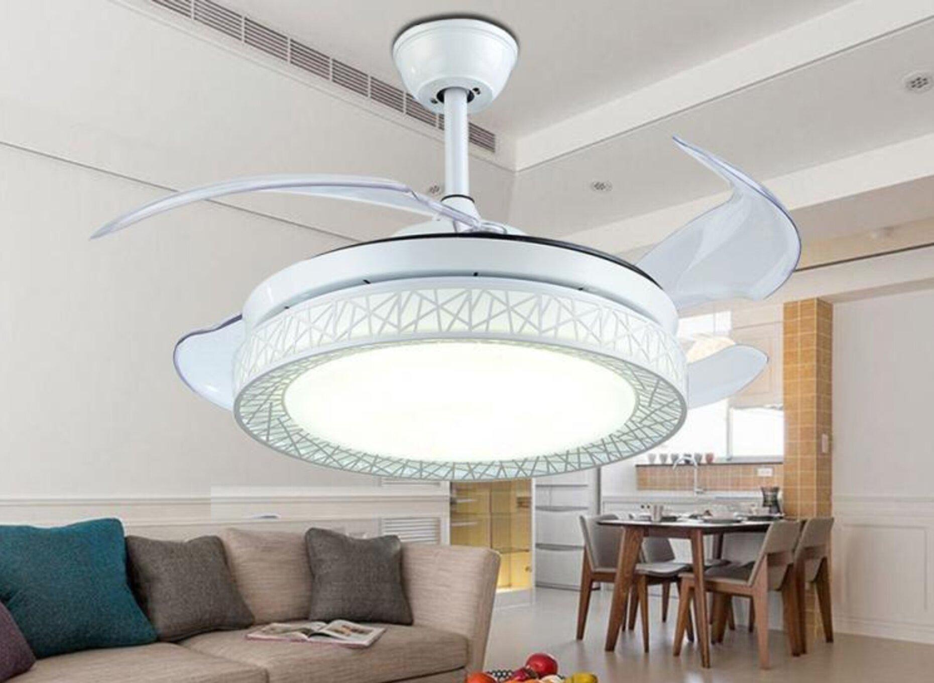 42 Lance 4 Blade Led Smart Ceiling Fan