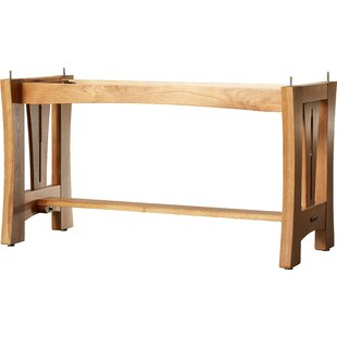 Loon Peak Lewistown Solid Wood Dining Table