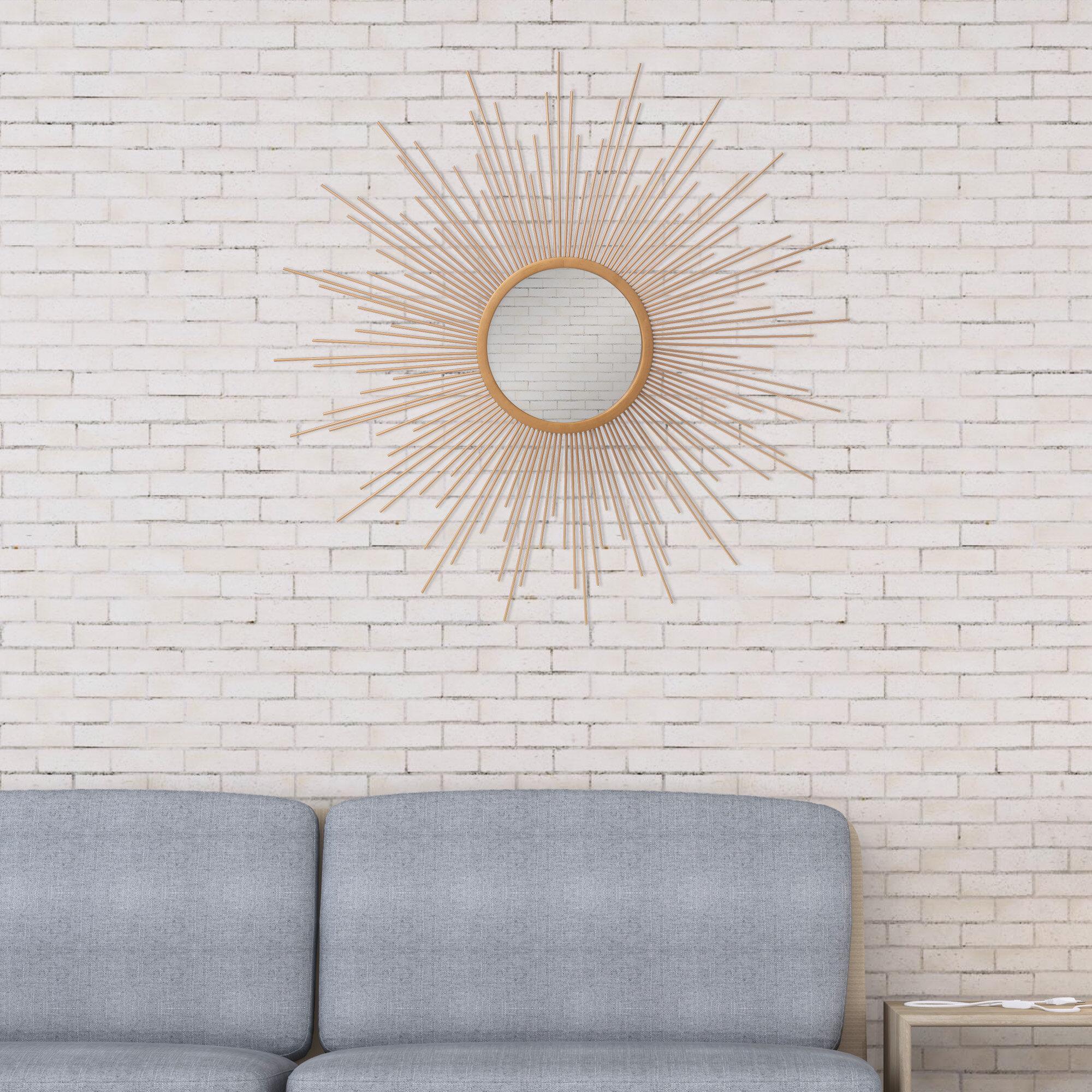Wrought Studio Haider Sunburst Glam Accent Mirror Reviews Wayfair