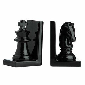 Buchstütze Chess von Castleton Home