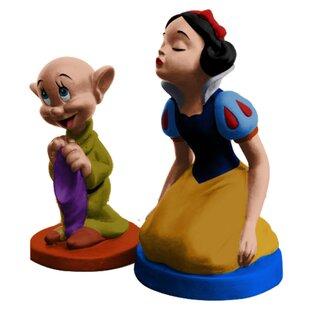 Disney Snow White Sculpted Ceramic 2-Piece Salt and Pepper Set