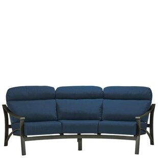 Corsica Patio Sofa with Cushions by Tropitone