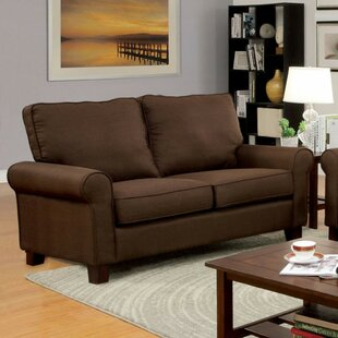 Kolb Transitional Loveseat by Alcott Hill