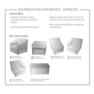 TK Classics Manhattan Winter 8 Piece Cove..