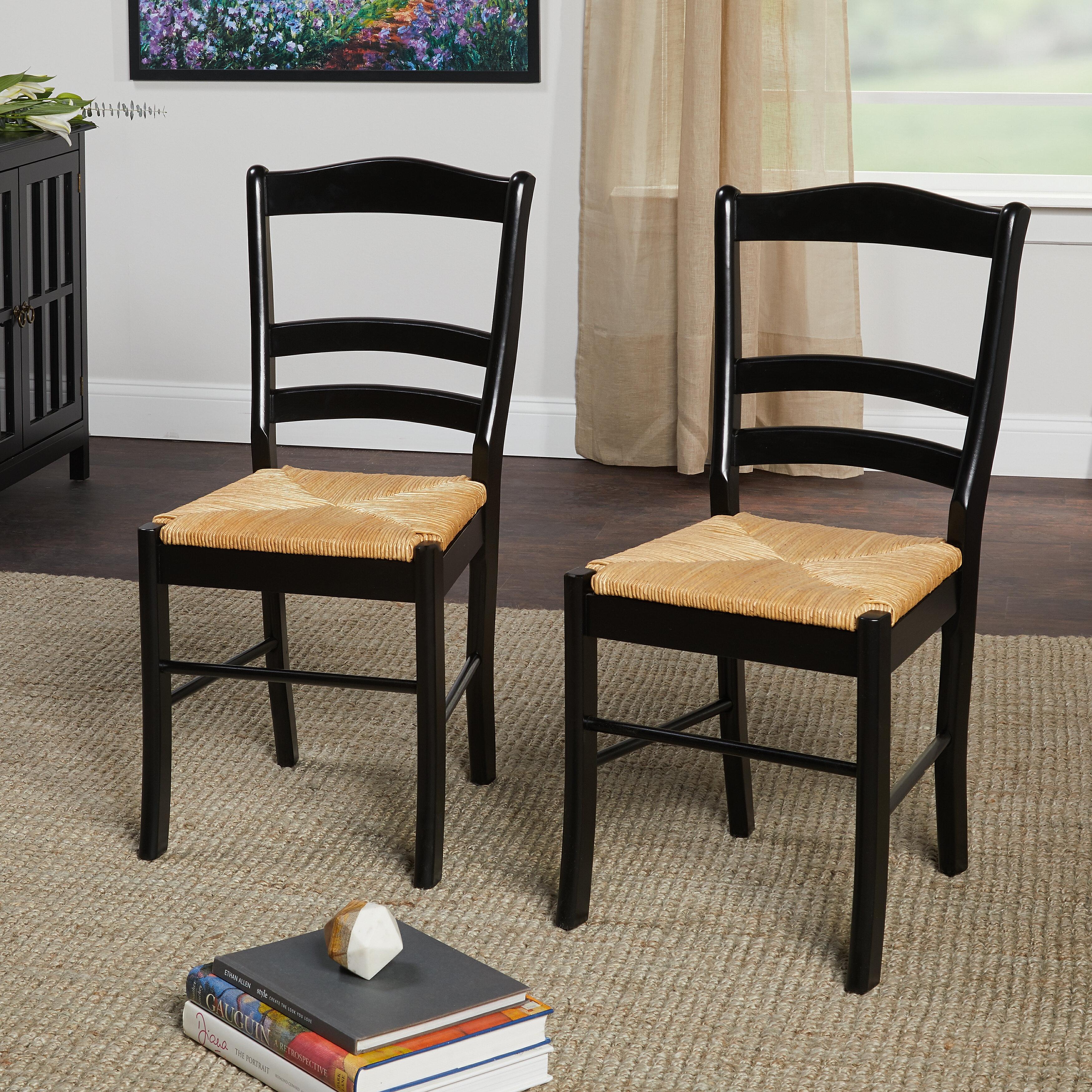 Bay Isle Home Lucrezia Ladder Back Side Chair Reviews Wayfair
