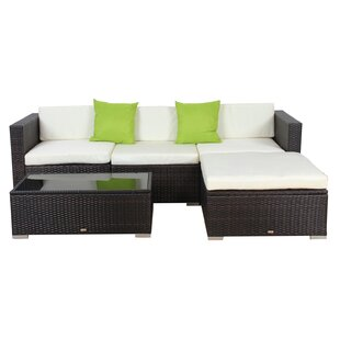 Kellum 5 Piece Sectional Set with Cushions by Latitude Run