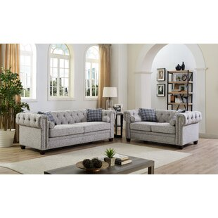 Brockton 2 Piece Living Room Set by Charlton Home