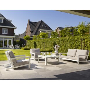 Bellini Home and Garden Block 4 Piece Sofa Set with Cushions