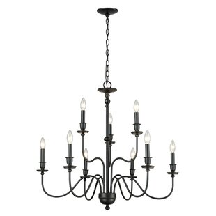 Charlton Home Deberry 9-Light Candle Styl..