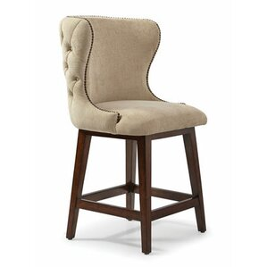 Autberry Dark Oak Bar Stool by Darby Home Co