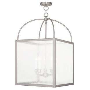 Brundidge 5-Light Semi Flush M..