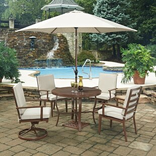 Mauricio 7 Piece Dining Set with Cushion