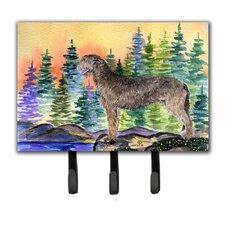 Irish Wolfhound Leash Holder and Key Hook by Caroline's Treasures
