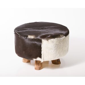 Sayer Leather Ottoman by U..