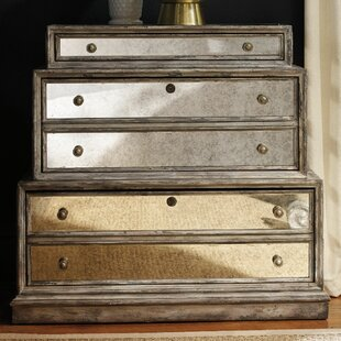 5-Drawer Mirrored Lateral File by Hooker Furniture