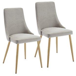 Mercer41 Heffernan Upholstered Dining Chair (Set of 2)