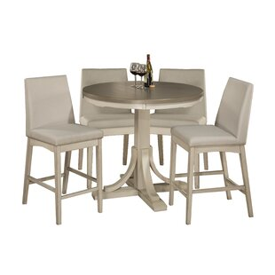 Clary 5 Piece Counter Height Dining Set