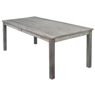 Lorie Teak Dining Table by Loon Peak Purchase