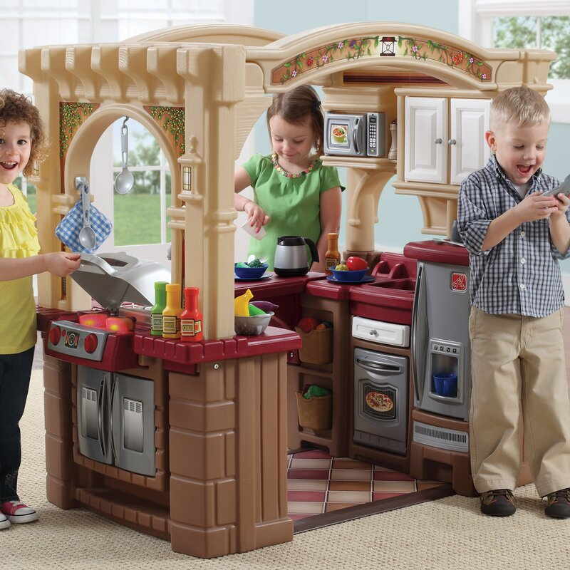 Step2 Grand Walk In Kitchen and Grill & Reviews   Wayfair