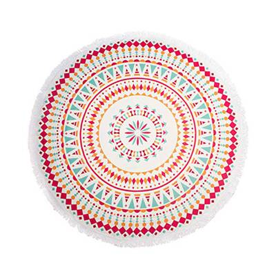 deaf67c41 Kavka Tribal Tango Round Beach Towel | Wayfair