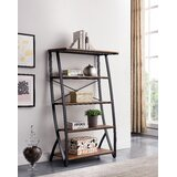 Niobrara 60 H x 34.75 W Ladder Bookcase by 17 Stories