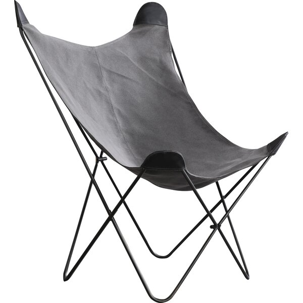 Ally Butterfly Faux Fur Cover Lounge Chair & Reviews ...