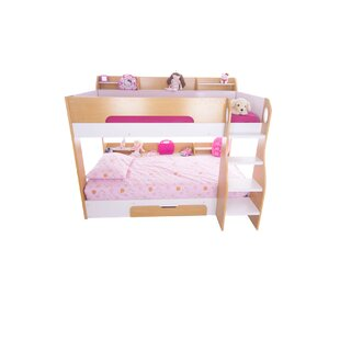 Rebecca Bunk Bed with drawer and shelves by Viv   Rae