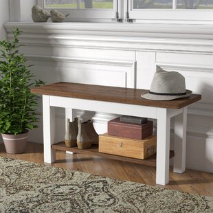 Mccardle Bench with Shelf By Gracie Oaks