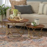 Dunavant Frame 2 Piece Bunching Tables by Mercury Row®