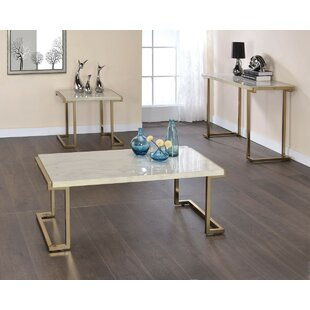 Bischo 3 Piece Coffee Table Set