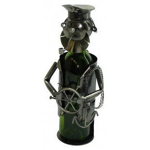 Sailor 1 Bottle Tabletop Wine Rack by Win..