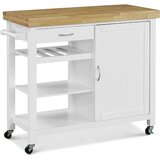 Ewarton Kitchen Cart by Winston Porter