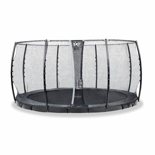 Interra 15' Backyard In-Ground With Safety Enclosure By Exit Toys