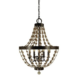 Framburg Naomi 5-Light Chandelier