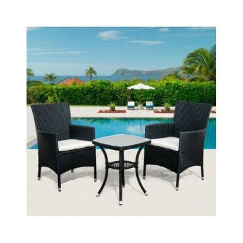 2-Sitzer Balkonset Newbury   Garten > Balkon   Polyrattan   Garten Living