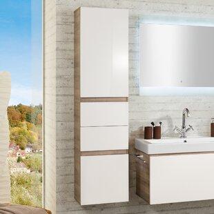 Piuro 40 x 161 cm Linen Cupboard by Fackelmann